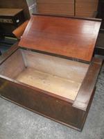 Mahogany Blanket Box Seat (2 of 3)