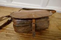 19th Century Leather Game Bag & Cartridge Case, Shooting, Hunting (4 of 5)