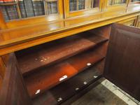 Large George III Style Mahogany 6 Door Cabinet Bookcase (15 of 17)