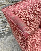 Victorian Mahogany Framed Wing Armchair (14 of 15)