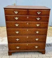 Early 19th Century Oak Chest of Drawers (3 of 4)