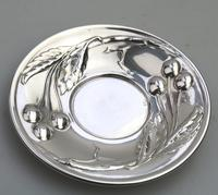 Eduard Friedman - Extremely Rare 800 Solid Silver Vienna Cup & Saucer 1900 (8 of 15)