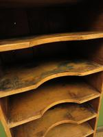 Antique Narrow Pine Pigeon Holes, Stationery or Haberdashery Display Shelves (2 of 10)