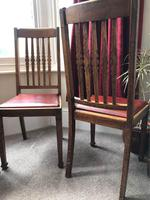 Set of Ten Arts & Crafts Chairs