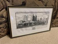 Set of 9 Framed Prints of Historic Castles & Abbeys (8 of 10)