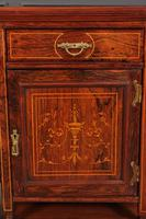Marquetry Inlaid Rosewood Bedside Cabinets (3 of 13)