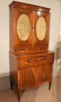 George III Sheraton Period Secretaire Cabinet (9 of 9)