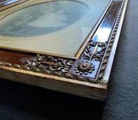 Enchanting Original Show-framed 19th Century Double Portrait Photograph of 2 Siblings (10 of 11)