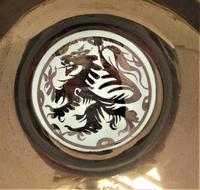 Gordon Forsyth, Copper Lustre Earthenware Shallow Footed Dish in Hispano Moresque Style c.1930 (2 of 8)