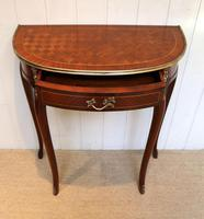 French Mahogany Demi Lune Table (10 of 10)