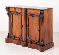 Good Victorian Rosewood Side Cabinet (6 of 8)