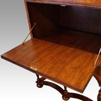 Queen Anne Walnut Drinks Cabinet on Stand (6 of 11)