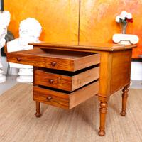Walnut Chest of Drawers Victorian Side Cabinet 19th Century (10 of 11)