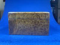 19th Century French Burr Cedar Inlaid Box (9 of 11)