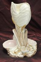 Royal Worcester Swan & Nautilus Shell Vase (4 of 5)