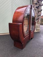 Art Deco Walnut Display Cabinet (7 of 11)
