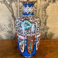 19th Century Japanese Cloisonné Vase (2 of 4)
