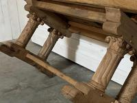 Extremely Rare Large Oak Refectory Table (34 of 35)
