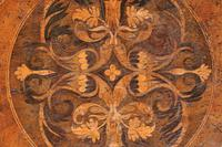 Rare 17th Century Walnut & Marquetry Candle Stand (8 of 9)