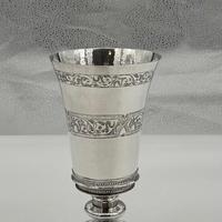 Mid 16th Century Antique Elizabethan Silver Chalice London 1565 Robert Darrant (5 of 7)