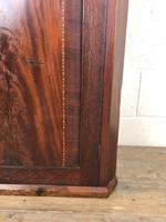 Antique 19th Century Inlaid Mahogany Corner Cupboard (8 of 9)