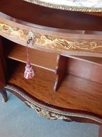Louis XVI Style French Marble Top Cabinet (5 of 8)