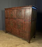 Fabulous Polychromed Tibetan Altar Cabinet (8 of 9)