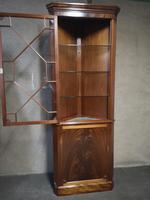 Mahogany Corner Cabinet in the Georgian Style (5 of 10)