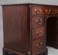 18th Century Mahogany Kneehole Desk (11 of 13)