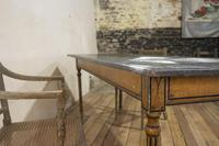 18th Century Faux Quilted Maple Painted Swedish Table (16 of 16)