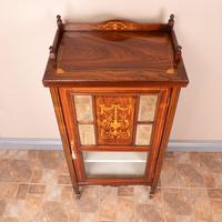 Inlaid Rosewood Music Display Cabinet (11 of 15)