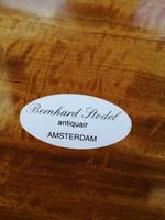 Beautiful Sheraton Revival Satinwood Sewing Table (5 of 11)