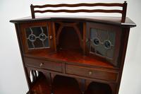 Antique Edwardian Arts & Crafts Mahogany Writing Bureau (12 of 12)