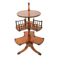 Victorian Satinwood Book Stand (3 of 8)