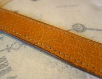 Vintage Wrist Watch Strap 1940s WW2 Military 16mm Brown Pig Skin Spring Loaded Ends Nos (6 of 12)