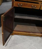 1910s Edwardian Quality Mahogany Chiffoniere Bookcase with Inlay (5 of 5)