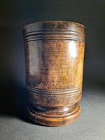 18th Century Walnut Mortar