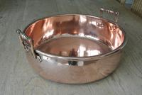 Victorian Copper Twin Handle Preserve Pan 15 Inch  Circa 1840-60 Jam Pan