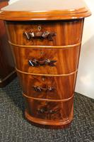 Mahogany Bedside Chests (3 of 6)