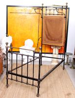 Cast Iron Bed Frame Brass Victorian 19th Century (7 of 9)