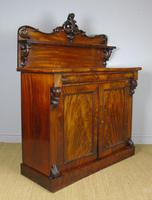 Victorian Flame Mahogany Chiffonier Cabinet Sideboard (2 of 8)