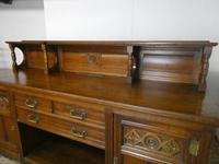 English Oak Sideboard by Gillows of Lancaster (11 of 15)