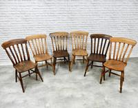 Mixed Set of 6 Windsor Kitchen Chairs (7 of 7)