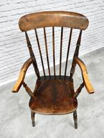 Antique Stick Back Armchair (2 of 6)
