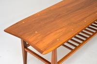 1960's Vintage Inlaid Walnut Coffee Table (5 of 9)