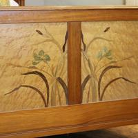 Art Nouveau Matching Pair of Twin Single French Beds (5 of 10)