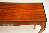 Antique French Mahogany Side Table (5 of 10)