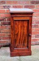Victorian Mahogany Bedside Cupboard With Marble Top (2 of 8)