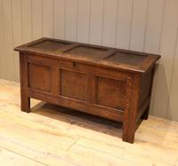 Original Late 17th Century Oak Coffer (7 of 11)