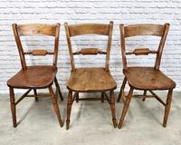 Set of Oxford Barback Windsor Chairs with 2 Carvers (4 of 7)